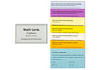 Math Cards: Fractions - English Version
